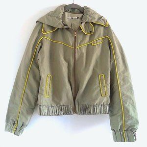 New Mike & Chris Bomber Jacket with Removable Hood